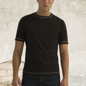 ATC™ EUROSPUN® RING SPUN CONTRAST STITCH SHORT SLEEVE T-SHIRT Thumbnail