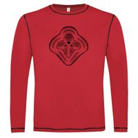 ATC™ EUROSPUN® RING SPUN CONTRAST STITCH LONG SLEEVE T-SHIRT Thumbnail